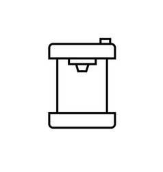 Cofee machine icon vector