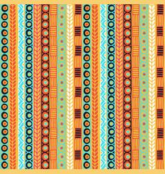 Ethnicity seamless pattern boho style ethnic vector