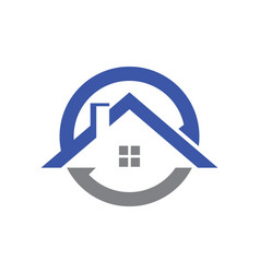 House icon roof logo vector