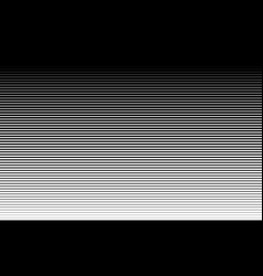pattern with gradient horizontal halftone line vector image