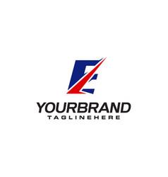 Unique logo that forms letter e matches your vector