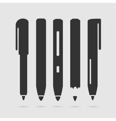 Set symbol pen vector