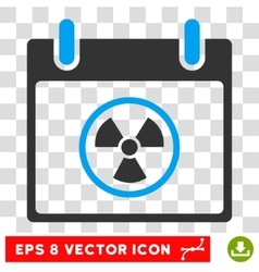 Atomic Calendar Day Eps Icon vector
