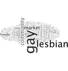 Boost profits market to gay community vector