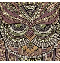 Decorative ornamental Owl vector image