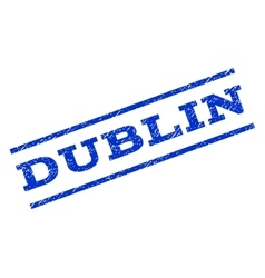 Dublin Watermark Stamp vector
