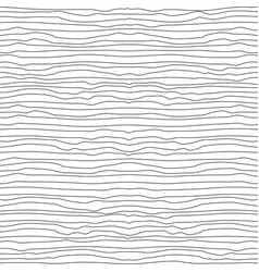 horizontal waved thin uneven lines seamless vector image