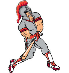 knight sports logo mascot baseball vector image