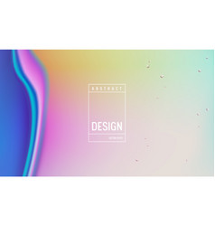 liquid gradient color background design fluid vector image