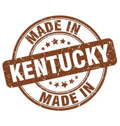 Made in kentucky vector
