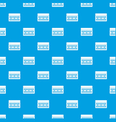 one building brick pattern seamless blue vector image