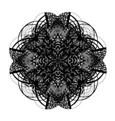 Celtic and irish knot ornamental cross vector image