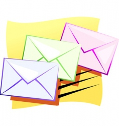 mail vector image vector image