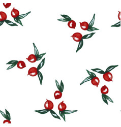 pattern watercolor vector image