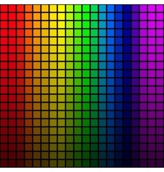 Background of rainbow colored mosaic vector