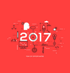hot trends and prospects in idea creation vector image vector image
