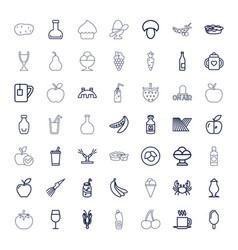 49 fresh icons vector