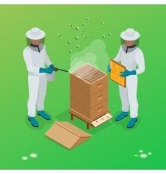 Apiary beekeeper Apiary vector