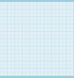 blue metric graph paper seamless pattern vector image