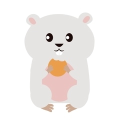 Funny Hamster vector image