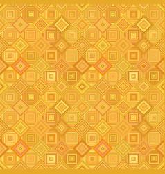 orange geometrical diagonal square mosaic tile vector image