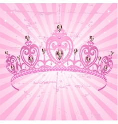 Princess crown vector