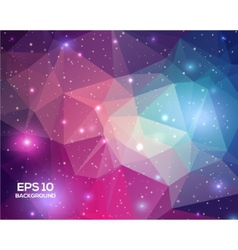 Universe space beautiful background great for your vector image