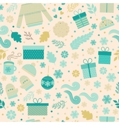 Christmas seamless pattern in vector