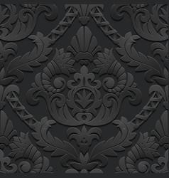 Dark vintage background vector image vector image