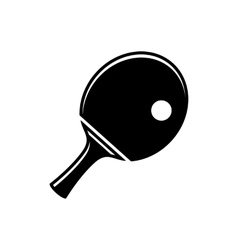 Simple table tennis icon vector image vector image