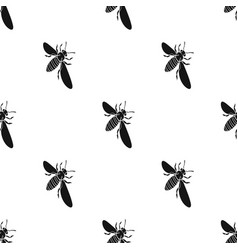 A bee a hymenopteran insect stinging insect bee vector