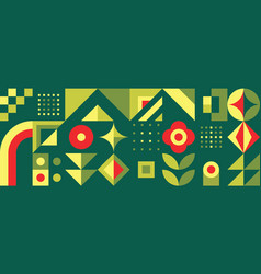 abstract geometric background design graphic vector image