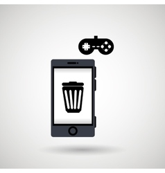 app mobile design vector image