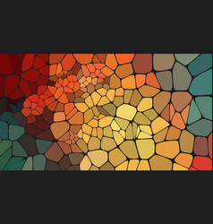 Colorful voronoi abstract 2d geometric background vector