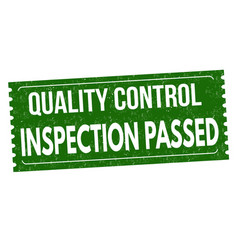 Inspection passed grunge rubber stamp vector