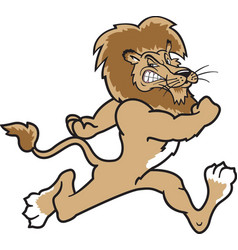 lion logo mascot vector image