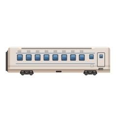 Passenger wagon icon cartoon style vector