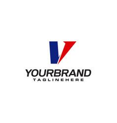 Unique logo that forms letter v matches your vector