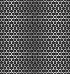 Chrome cell seamless background vector image
