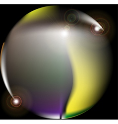 abstract lens flare vector image vector image