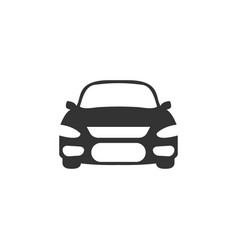 car icon graphic design template vector image