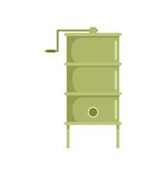Honey extract tool icon flat style vector