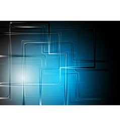 Modern technology background vector image