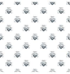 organic farm pattern seamless vector image