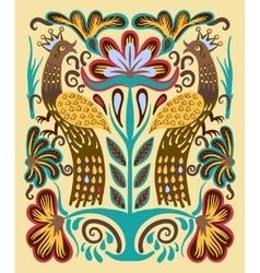 Original ukrainian hand drawn ethnic decorative vector