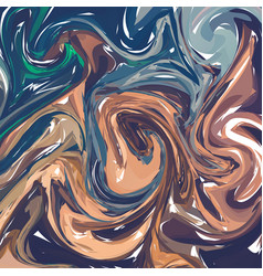 Paintings with marbling marble texture paint vector