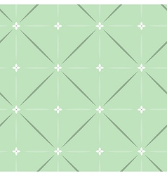 Pattern classic green vector