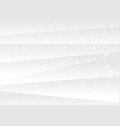 white winter christmas snow abstract background vector image