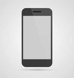 3D Realistic mobile phone vector image