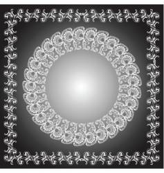 Ornament frames vector